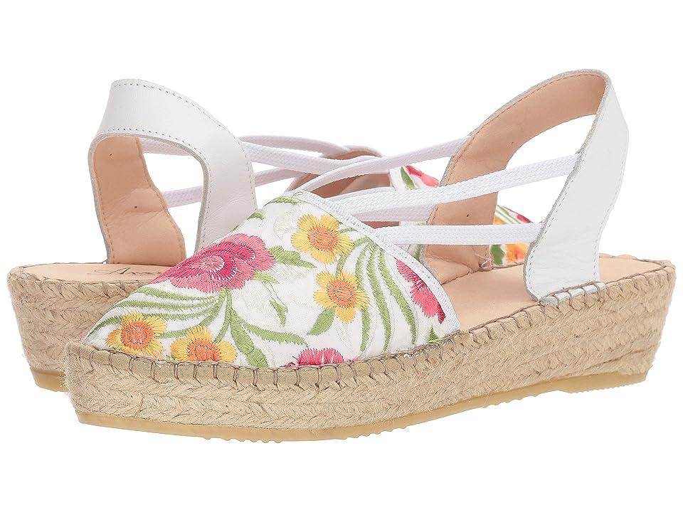 Spring Step Haleema (White Multi) Women