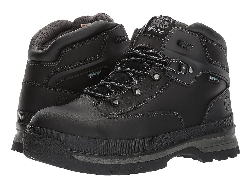 Timberland PRO Euro Hiker Alloy Safety Toe Waterproof (Black Full Grain Leather) Men