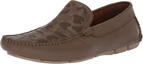Kenneth Cole New York Men's Theme Song Driving Style Loafer, Taupe, 11.5 M US