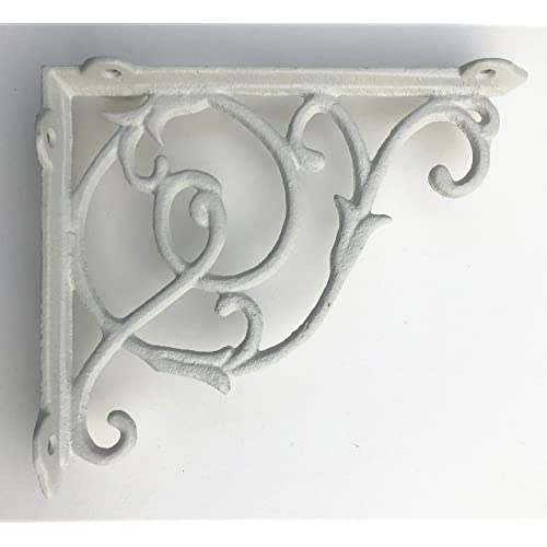 White Shelf Brackets: Amazon.co.uk