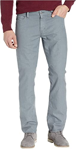 Graduate Tailored Leg Linen Pants in Sulfur Fog Beacon