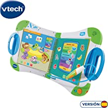 VTech-80-602122 Magibook. Enseña a Aprender. ¿Qué Quieres Saber Hoy Vocabulario, Mates, Ciencias. Horas de Entretenimiento, Libros interactivos, Color Verde (80-602122)