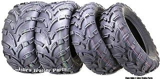Set of 4 New WANDA ATV/UTV Tires 25×8-12 Front & 25×10-12 Rear /6PR..