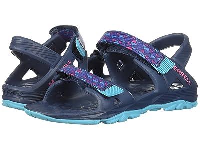 Merrell Kids Hydro Drift (Toddler/Little Kid/Big Kid) (Navy/Multi) Girls Shoes