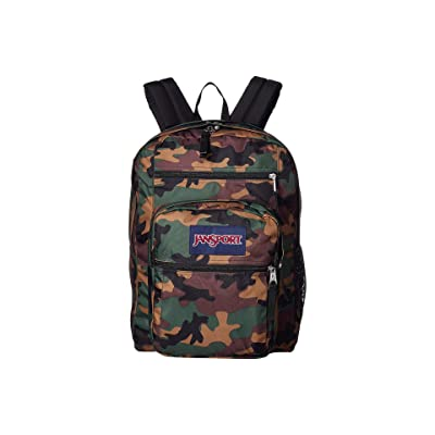 JanSport Big Student (Surplus Camo) Backpack Bags