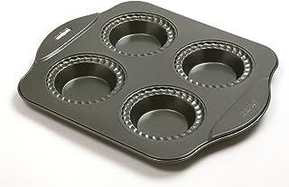 Norpro Nonstick Mini Pie Pan, 4 Cup, Black