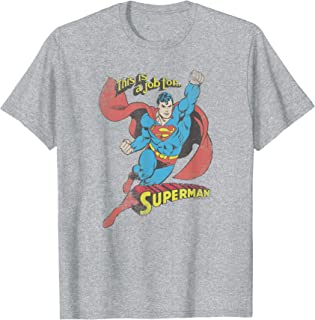 Superman On the Job T-Shirt