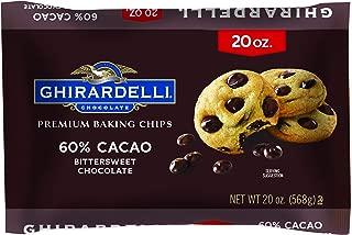 Ghirardelli Chocolate Bittersweet Baking Chips, 20 oz.