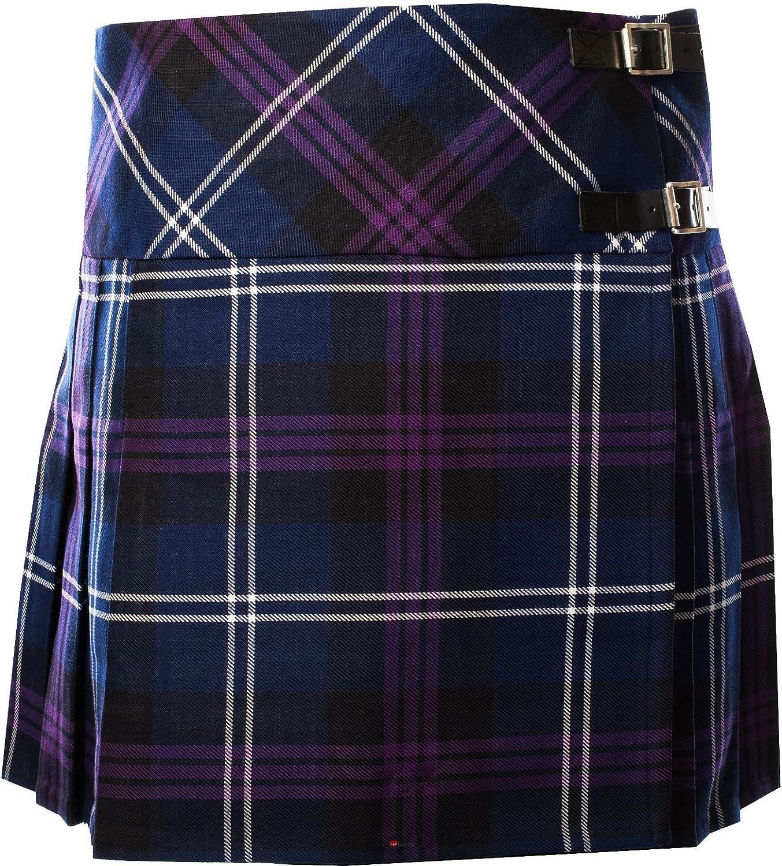 ILuv Ladies Deluxe Billie Kilt Tartan Heritage of Scotland