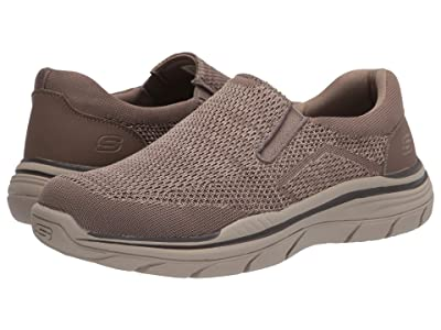 SKECHERS Relaxed Fit Expected 2.0 Arago (Taupe) Men