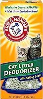 مزيل رائحة فضلات القطط من ارم اند هامر مع صودا خبز منشطة- 567 جرام