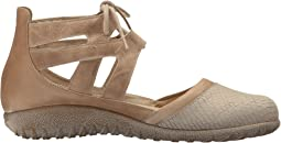 Beige Iguana Nubuck/Khaki Beige Leather/Arizona Tan Leather