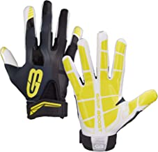 Grip Boost Football Gloves Mens #1 Grip Stealth Pro Elite - Adult & Youth Football Glove Sizes