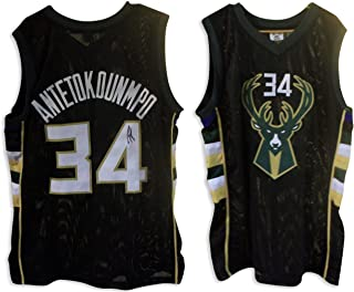 big sale ffaff aa538 Amazon.com: giannis antetokounmpo - Sports Memorabilia