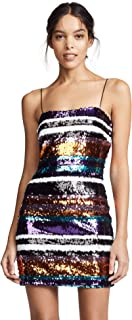 LIKELY womens LIKELY Braelynn sequin striped cocktail dress Cocktail Dress