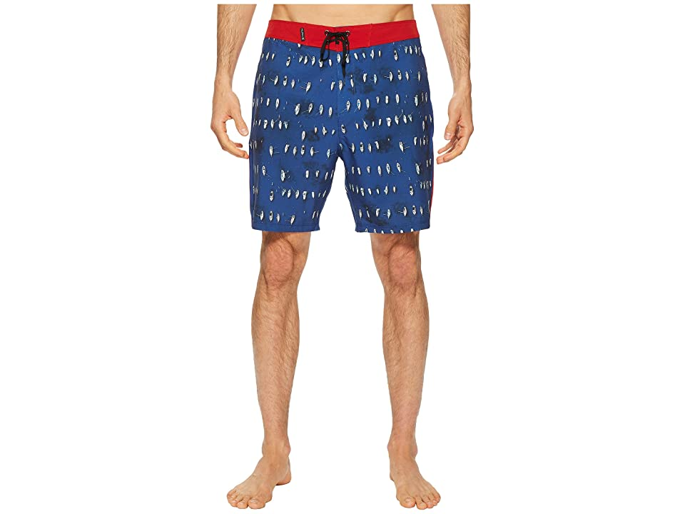 Hurley Phantom Bora 18 Boardshorts (Obsidian) Men