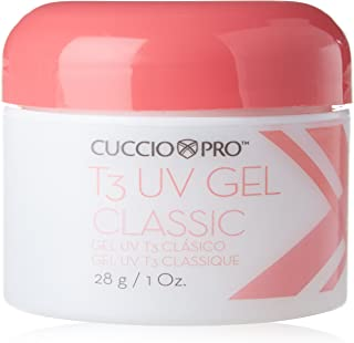 Cuccio Pro T3 UV Gel Clear for High Shine Natural and Artificial Nails 28g