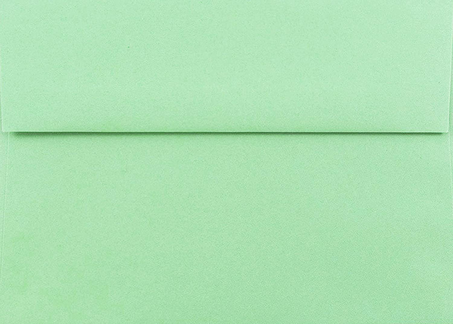 Green Pastel 50 Boxed 5-1 4 x 7-1 Quality Reservation inspection A7 Car for 7 Envelopes X 5