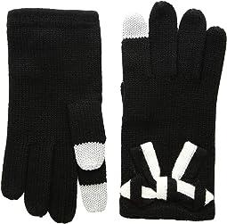 Bow Applique Gloves