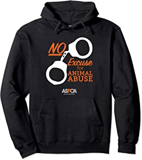 ASPCA No Excuse for Animal Abuse Hoodie