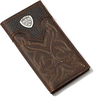Men's Boot-Embroidery Rodeo Tan Wallet