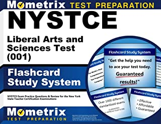 NYSTCE Liberal Arts and Sciences Test (001) Flashcard Study System: NYSTCE Exam Practice Questions & Review for the New York State Teacher Certification Examinations (Cards)