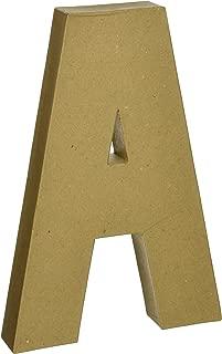 Darice Paper Mache Letter A, 12-Inch