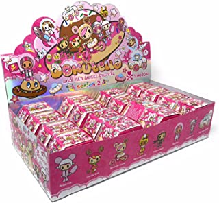Tokidoki Donutella and Her Sweet Friends Series 2 Collectible Figure Display (Case of 16)