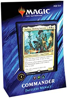 Magic: The Gathering Commander 2019 Faceless Menace Deck | 100-Card Ready-to-Play Deck | 3 Foil Commanders