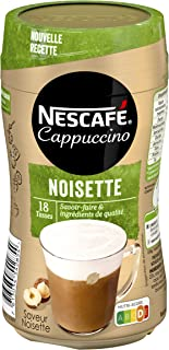 Nescafé Cappuccino Noisette - Café soluble - Boîtes de 270g