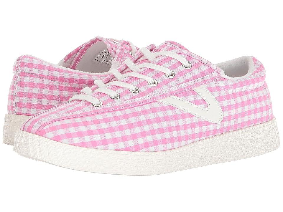 Tretorn Nylite 4 Plus (Pink/White) Women