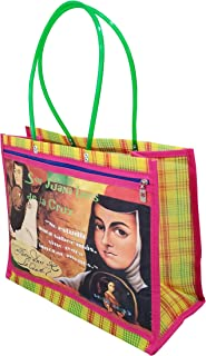 Sor Juana Ines de la Cruz, Bolsa de Mujer tipo Malla Multiusos, Escritora Mexicana, Mujer Intelectual e Ilustre y Sobresaliente. MEXICO