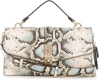 حقيبة يد البوري من جيس بذراع مسك علوي وغطاء قابل للقلب، متعددة الالوان