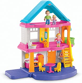 Mi primera casa de muñecas Fisher-Price (familia caucásica)