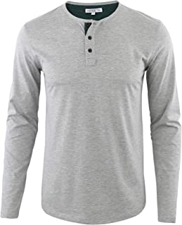 Best summer henley jersey tee Reviews