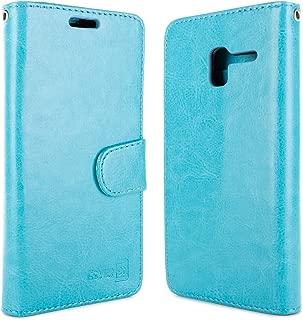 "Alcatel TRU Wallet Case, Alcatel Stellar Case, Alcatel Pop 3 Case (5""), CoverON [Carryall Series] Premium Synthetic Leather Flip Folio Card Holder Slim Phone Cover Case Green J775-CO-ALSTELLARR-VW5-TL"