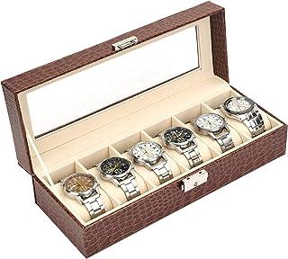 منظم و صندوق المجوهرات ، جلد - لون اسود
