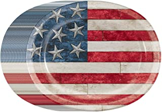 Rustic Americana USA Flag Disposable 10
