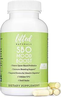 Probiotics - SBO Mood Boost Probiotic - Spore/Soil-Based - Digestion & Emotional Health Support - Histamine-Free - Natural...