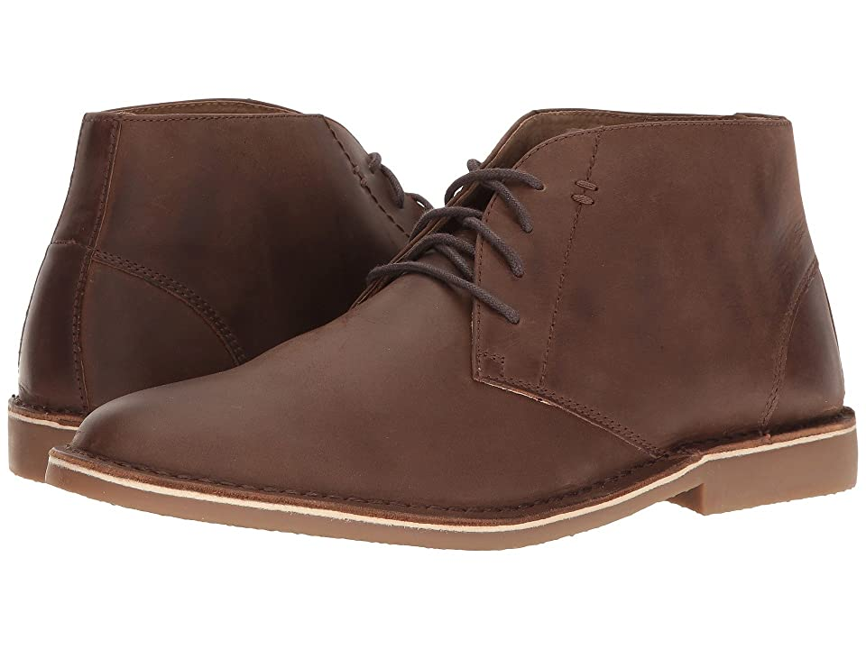 Nunn Bush Galloway Plain Toe Chukka Boot (Tan Chamois) Men