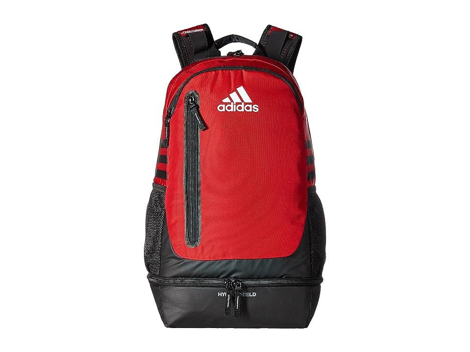 adidas Pivot Team Backpack (Scarlet/Neo White/Black) Backpack Bags