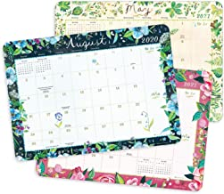 "Katie Daisy 2020 - 2021 Desk Pad Calendar (17-Month Aug 2020 - Dec 2021, 18.75"" x 13.5"")"
