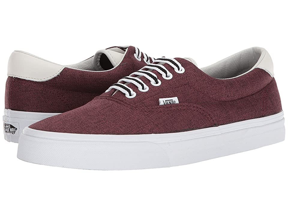 Vans Era 59 ((Varsity) Port Royale/Blanc de Blanc) Skate Shoes