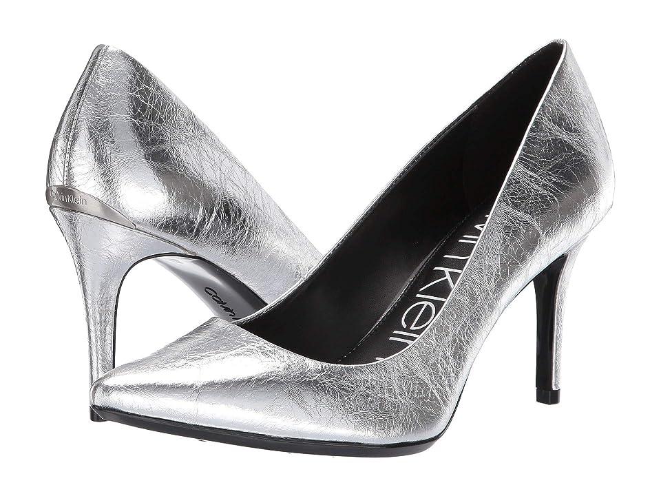 Calvin Klein Gayle (Silver Thrill Metallic) High Heels