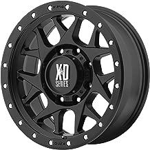 XD Series by KMC Wheels XD127 Bully Satin Black Wheel (17x9