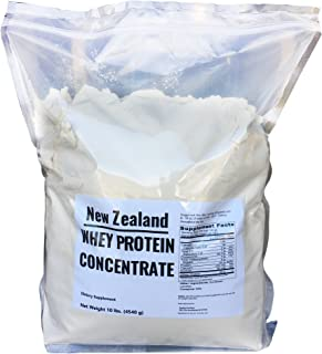 New Zealand Whey Protein - 10 lbs - 100% Grass Fed, Non-Gmo, No Soy, Imported Directly From New Zealand, 150 Servings