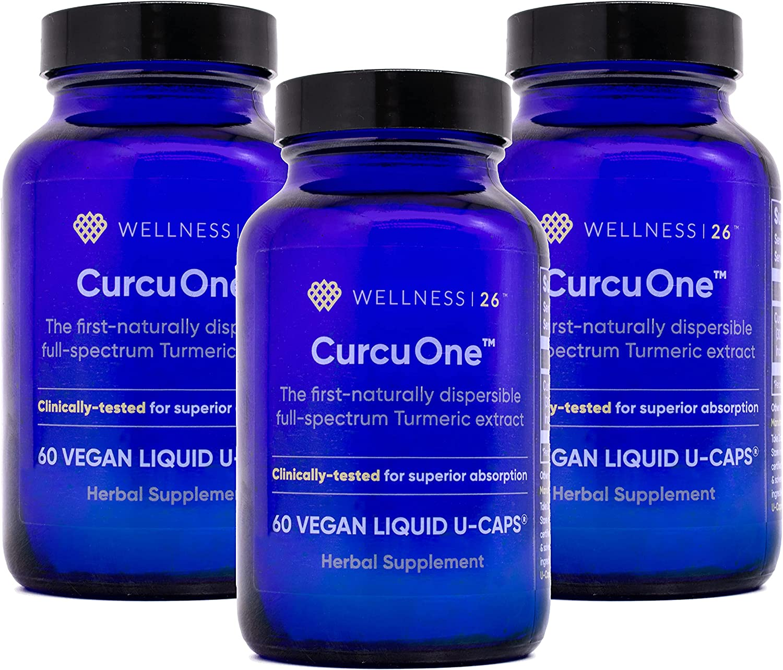 CurcuOne with Curcugen shop Next Generation Curcumin day 5 popular 90 supply