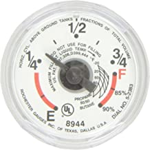 Manchester Tank G12653 LP Gas Tank - Snap-On Dial Gauge