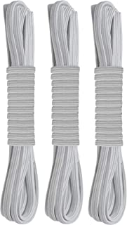 No Tie Flat Stretch Shoe Laces - 3 Pairs