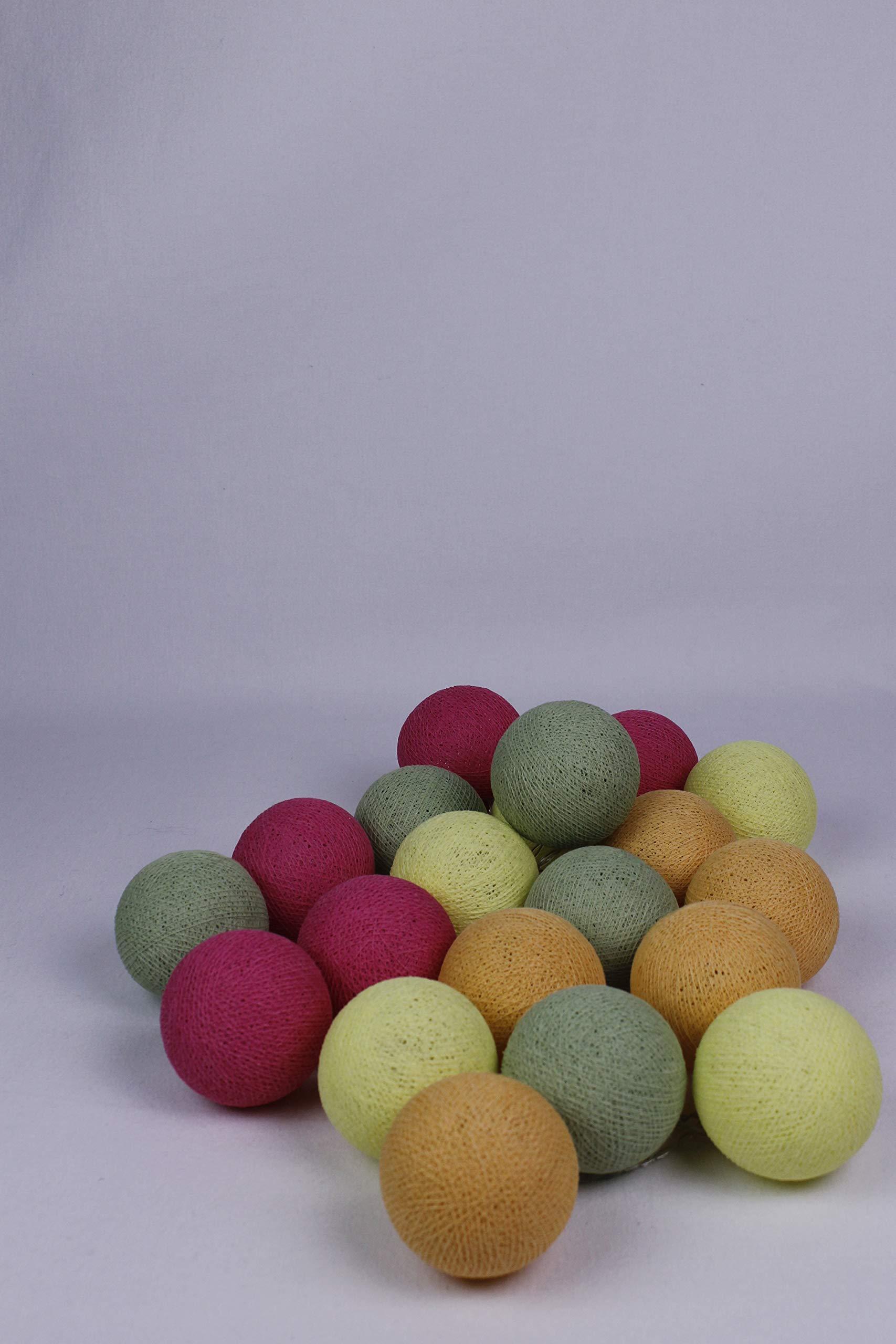Cotton Ball Lights Frühling 10 - Bolas de algodón (Talla única ...